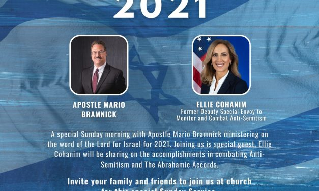 The Word Of The Lord For Israel For 2021